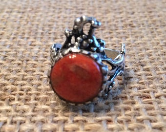 Coral Ring by Thimbles by TJ Lane