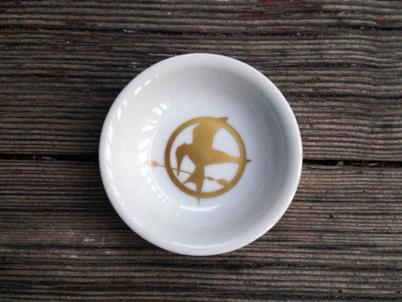 Ring Dish | Hunger Games | Mockingjay | Engagement Gift | Jewelry Dish