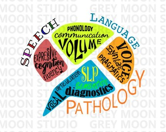 speech language pathology, slp, digital,health, medical,svg,dxf