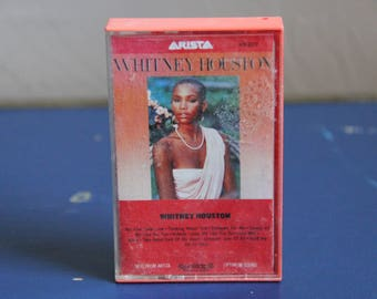 Vintage 1980s (1985) Cassette Tape Whitney Houston - Self Titled Album
