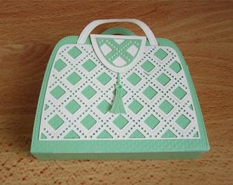 Handmade hand bag gift bag