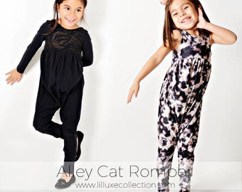 Alley Cat ROMPER and DRESS pattern