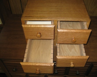 Library-Style Card Catalog