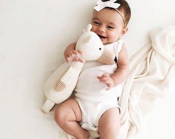 Baby Girl Headband, Baby Headband, newborn headband, Baby Bow Headband, Baby Girl Bow, White Baby Bow, Baby Hair Bow. WHITE Schoolgirl Bow