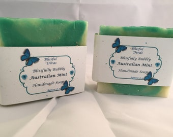 Blissfully Bubbly  Handcrafted Soap