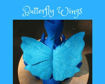 Butterfly Wings Add-On for Build-A-Dragon ONLY ~ Butterfly Wings, Magical Touch, Custom Option for Stuffed Dragon, Personalized Plush Toy