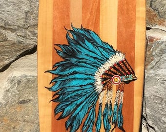 Custom Hardwood Longboard