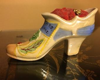 Antique Shoe Pin Cushion Baltimore MD