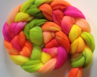 Merino Wool Roving spinning or felting  3.5 ozs  Ready to ship