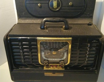 Zenith transoceanic tube radio G500. All original working condition.
