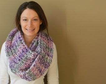 Knitting kit - DIY Angel Cowl - everything you need - pattern - yarn - needles