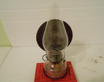 oil lamp with reflector