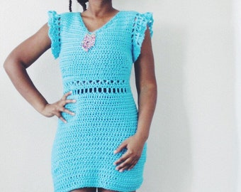 The Destination Crochet Dress Pattern. Instant Download.