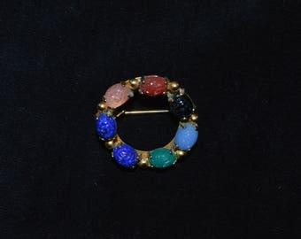 Unique Egyptian Scarab Pin