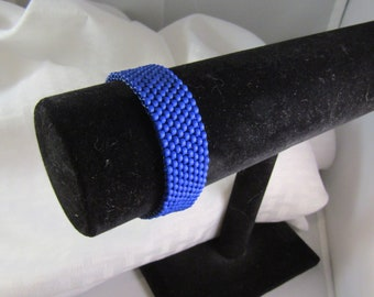 Matte Blue Bracelet