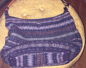 BEAUTIFUL Now and Zen Fiberarts Wool Purse