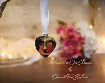 Wedding bouquet photo charm, photo charm, wedding charm, bouquet charm, wedding photo charm, photo charm for wedding bouquet