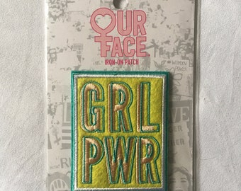 GRL PWR Iron-On patch