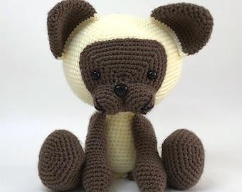 SIAMESE CAT - crochet siamese - amigurumi siamese - soft toy