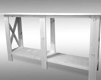 Long Console Table,white Console Table,foyer Table,narrow Console Table ,handmade