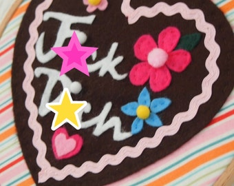 Naughty Gingerbread Cookie Wall Hanging-Oktoberfest Trend-Gag Gift-Swear Words-German Gift-Lebkuchen Kunst-Traditional Food-Customizable
