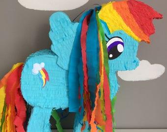 Pinata Blue Pony