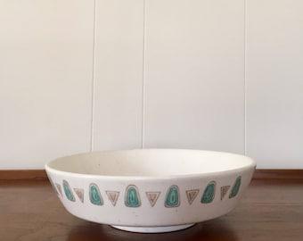 Vintage Metlox Poppytrail Navajo Serving Bowl