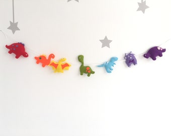 Above A Crib, Toddler Bedroom, Rainbow Baby Garland, Rainbow Nursery Decor, Rainbow Baby Shower Decor, Neutral Gender Nursery Decor