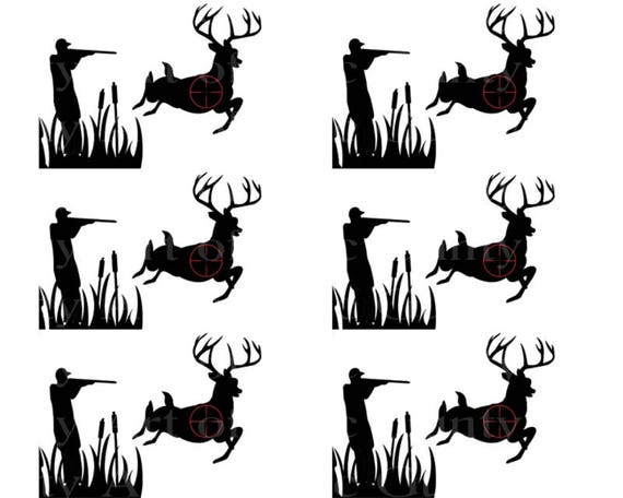 Deer Hunting Birthday - Designer Strips - Edible Cake Side Toppers- Decorate The Sides of Your Cake! - D22525