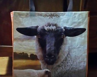 Sheep Feed Bag Tote Zero Waste