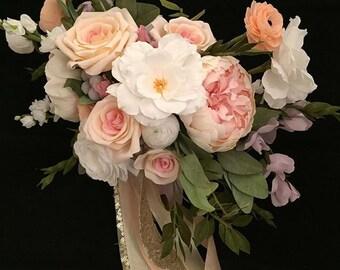 DEPOSIT- Custom crepe paper bouquet