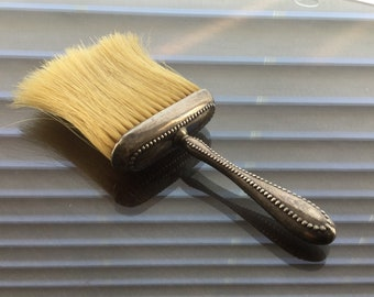 Sterling Silver Hat Brush, Whiting Victorian Edwardian Vanity 1343