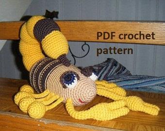Great Big Scorpion - crochet pattern PDF