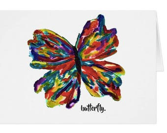 butterfly. greeting card