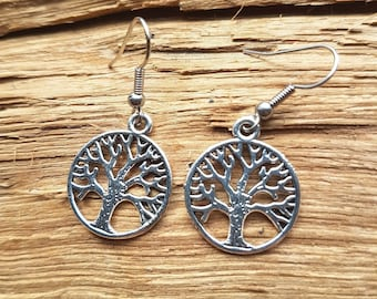 Silver tree of life earrings | Tree of life earrings | Nature jewellery | silver earrings | Gift for nature lover | Gift for her