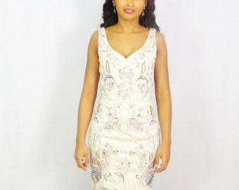 Fitted Embroidery Dress