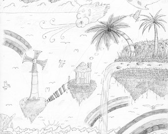 Islands in the Sky [8 1/2 x 11]