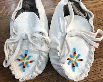 Baby Booties/Moccasins: Native American Navajo handmade