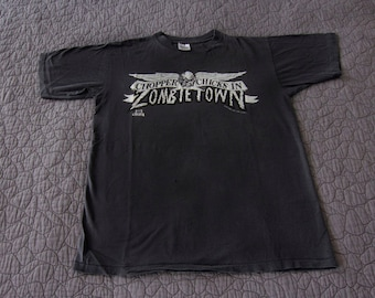 1992 Chopper Chicks In Zombietown shirt - Vintage Troma Pictures - Original film horror movie T-shirt - L