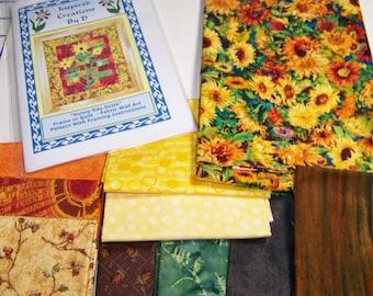 Sunny Day Suzie Art Quilt Pattern Kit
