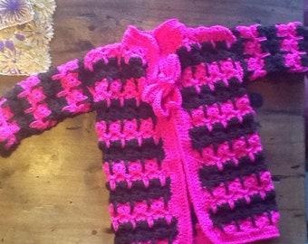 Sale Crochet Girls Cardigan