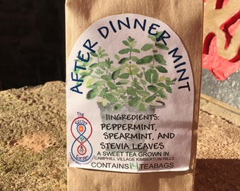 After Dinner Mint Herbal Tea