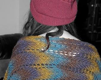 Ripple-Knit Shrug