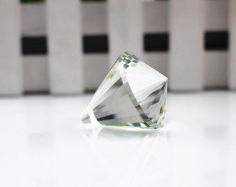 20 mm suncatcher feng shui transparent faceted Crystal Cone
