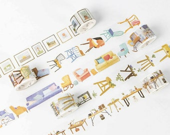 Around The House - Lifestyle Objects Washi Tape