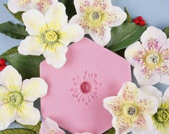 Hellebore Flower Mould