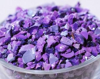Gaffer Purple Rose - Glass Frit - K2 - CoE 96 - Gaffer - 50g (1.76 ounces)