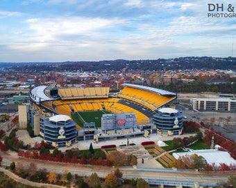Heinz Field (Pittsburgh Photography, Aerial Pittsburgh, skyline, Steelers, football)