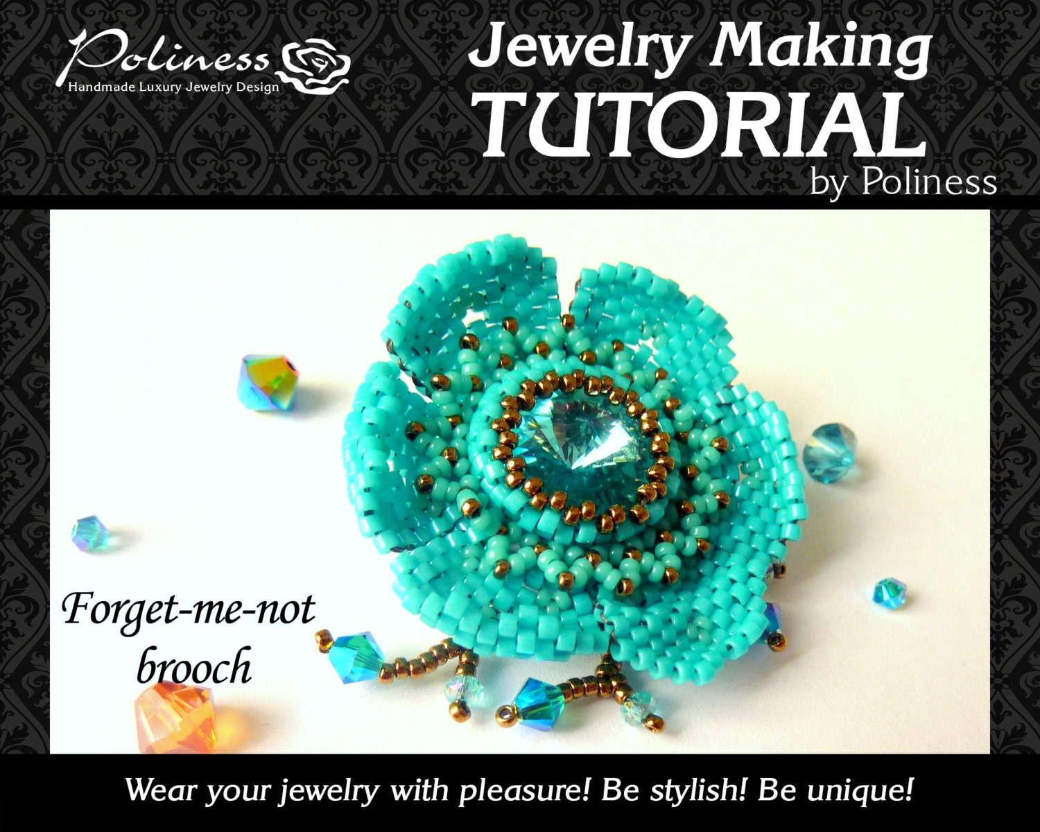 Jewellery Making Tutorials Pattern Beads making Beaded
