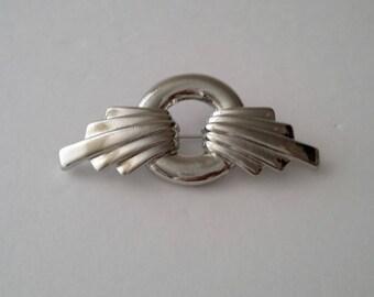 Vintage Silver Tone Brooch